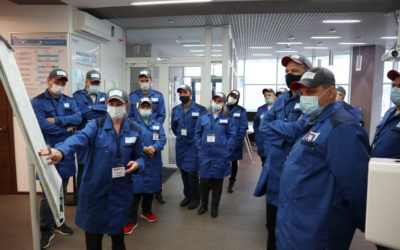 Рабочие с завода «ПК Агропродукт» прошли обучение на «Фабрике процессов»